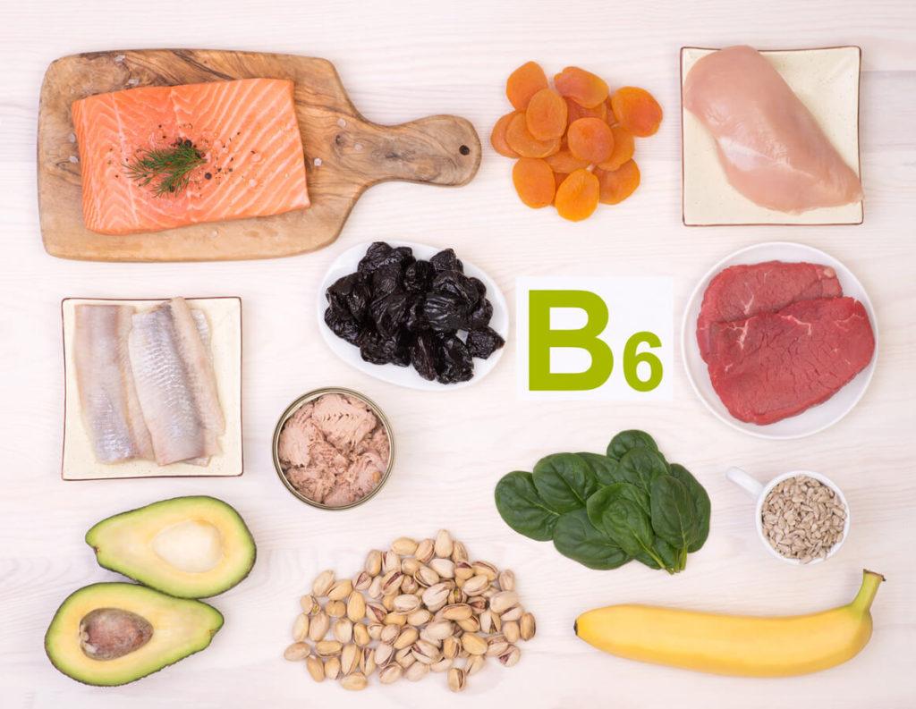 Vitamin B6 foods for immunity