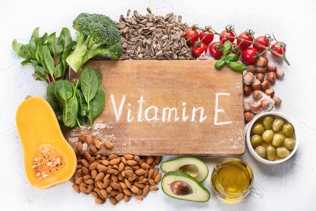 Vitamin E foods for immunity